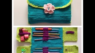getlinkyoutube.com-How to crochet hook case