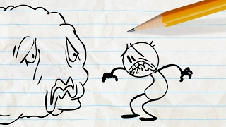"getlinkyoutube.com-""A Fishy Fable"" | Pencilmation Cartoons"