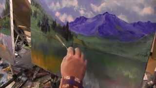 getlinkyoutube.com-Горный пейзаж, художник Сахаров