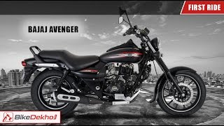getlinkyoutube.com-Bajaj Avenger Cruise and Street | First Ride | BikeDekho.com