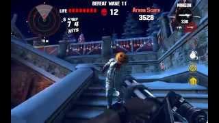 getlinkyoutube.com-Dead Trigger 1 Bloody Xmas Arena Wave 23 Nvidia Shield Tablet