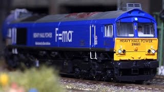 getlinkyoutube.com-Large Model Railway with Magnificent Cab Ride in HO Scale (1:87)