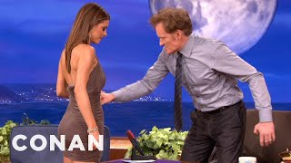 getlinkyoutube.com-Maria Menounos Is Tight & Can Take A Punch - CONAN on TBS