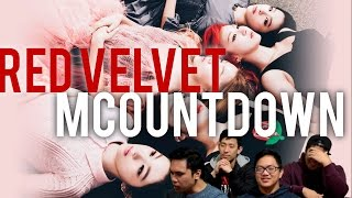 getlinkyoutube.com-[4LadsReact] RED VELVET - One of these nights | Cool Hot Sweet Love (stages)