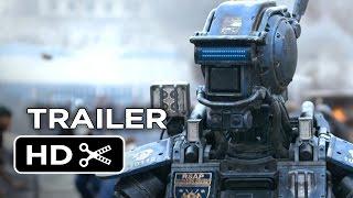 getlinkyoutube.com-Chappie Official Trailer #1 (2015) - Hugh Jackman, Sigourney Weaver Robot Movie HD