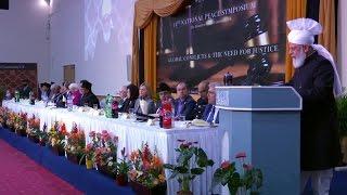 Govor hazreti Mirze Masroora Ahmada na Mirovnom simpoziju u Londonu 2017