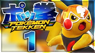 getlinkyoutube.com-WRESTLER-PIKACHU LEGT LOS! - Part #1 - Pokémon Tekken [German/Deutsch]