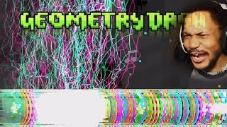 getlinkyoutube.com-THESE LEVELS ARE OUT[RAGE]OUS | Geometry Dash #15