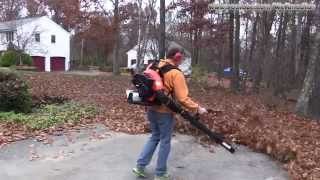 Echo PB-580T Leaf Blower Unboxing, Setup and Review