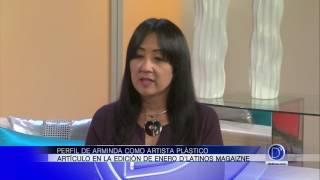 Perfil de Arminga García como artista plástico