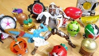 getlinkyoutube.com-すべてのアームズを装着!仮面ライダーグリドンに似合うのはどれだ!?AC07 アームズチェンジシリーズ レビュー!鎧武(ガイム) レジェンドアームズ ロックビークル