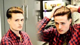 getlinkyoutube.com-Clean Slick Back | G-Eazy Inspired Classic Haircut & Hairstyle 2016
