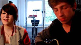 getlinkyoutube.com-3 Doors Down - Here Without You Acoustic Cover (Melli & Matze)