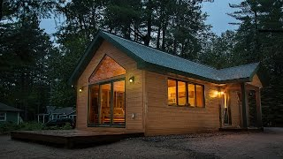 getlinkyoutube.com-Tiny Cabin by Dickinson Homes
