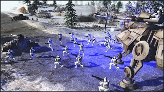 getlinkyoutube.com-CLONES VS COMMIES - Star Wars: Galaxy at War Mod Gameplay