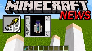 getlinkyoutube.com-Minecraft 1.9 News: Left Arm, Spectral Arrows, 1.8.6 1.8.5 Pocket Edition Updates, Left-Handed Mode