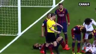 getlinkyoutube.com-Pepe Vs Neymar Vs Busqets Vs Fabregas at el clasico