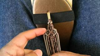 getlinkyoutube.com-Como hacer unas sandalias (Principiantes)