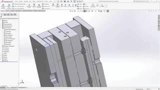 getlinkyoutube.com-Solidworks Kalıp Tasarım Eğitim Seti Tanıtımı