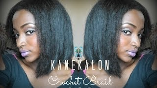 getlinkyoutube.com-Kanekalon Crochet Braid Bob (+ Cutting & Styling Tips!)