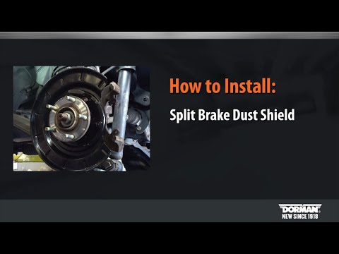 Split Brake Dust Shield Pair Installation Video by Dorman Products