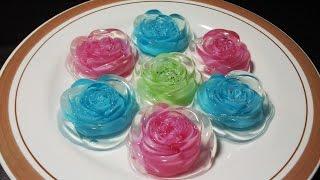 getlinkyoutube.com-Resep Membuat Pudding Kaca Mawar Warna Warni
