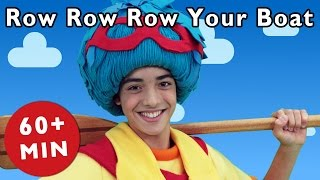 getlinkyoutube.com-Row Row Row Your Boat and More | Nursery Rhymes from Mother Goose Club!