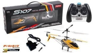 getlinkyoutube.com-Syma S107G RC Helicopter - Unboxing & Review