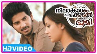 getlinkyoutube.com-Neelakasham Pachakadal Chuvanna Bhoomi Movie | Scenes | Dulquer invites Surja Bala to his home