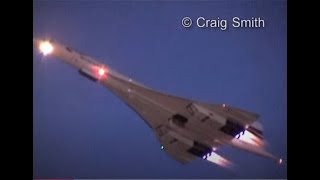 getlinkyoutube.com-Concorde Twilight Takeoff (with visible afterburners)