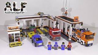 getlinkyoutube.com-Lego City 7642 Garage / Grosse Autowerkstatt - Lego Speed Build Review