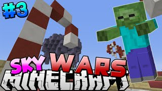 getlinkyoutube.com-Minecraft: SkyWars Episode 3 - DEADLY ZOMBIE (Mineplex Skywars Server Game)