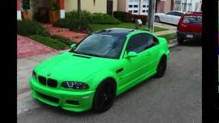getlinkyoutube.com-BMW M3 Plasti Dipped - EuroCustomsPR