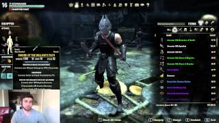 getlinkyoutube.com-(NEW) PvP Build - Dual Wield Stamina Nightblade - ESO