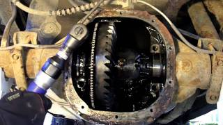 getlinkyoutube.com-1998 Ford Ranger Rear Differential Disassembly
