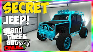 "getlinkyoutube.com-GTA 5 Online: SECRET Modded Storable Neon ""Canis Mesa"" Jeep Location! ""GTA 5 Rare & Secret Cars"""