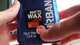 getlinkyoutube.com-Fudge urban matt wax review