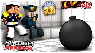 getlinkyoutube.com-MINECRAFT JOBS: DIE LÖSEGELD-ÜBERGABE GEHT SCHIEF... STERBEN WIR?! | Minecraft Roleplay • #12
