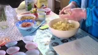 getlinkyoutube.com-بسكت جوز الهند بطريقه سهله ( ترجمة عربية ) coconut biscuits: English translation