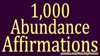 getlinkyoutube.com-1,000 ★POWERFUL★ Abundance Affirmations & Images - Wealth Money Prosperity Cash Law of Attraction #1