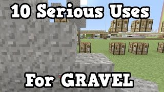 getlinkyoutube.com-Minecraft - 10 REAL USES FOR GRAVEL