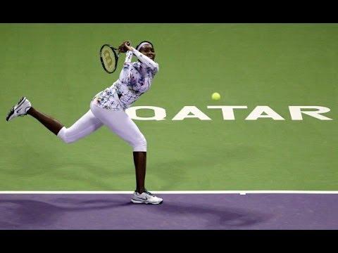 2014 Qatar Total Open Day 1 WTA Highlights