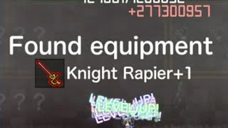 getlinkyoutube.com-[Drop] : Inflation rpg : Knight Rapier +1