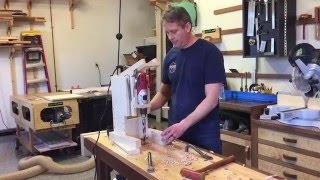 getlinkyoutube.com-DIY Bench Top Drill Press