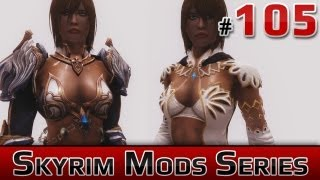 getlinkyoutube.com-★ Skyrim Mods Series - #105 - TERA Armors Collection (Heavy, Light, Robes, Female, Beta Male)
