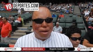Israel del Toro 4 de julio en los White Sox