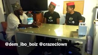 getlinkyoutube.com-Craze clown interview with dem_ibo_boiz