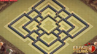 getlinkyoutube.com-AMAZING TH9 WAR BASE #1