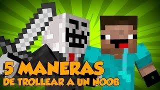 getlinkyoutube.com-5 Maneras De Trollear A Un Noob En Minecraft