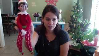 getlinkyoutube.com-Unboxing Elf on the Shelf New 2015 PAJAMAS EXCLUSIVE KOHLS CLOTHES